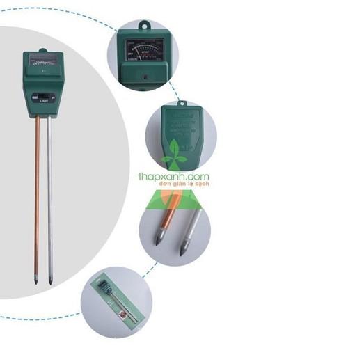 Máy đo độ PH, độ ẩm của đất, đo ánh sáng