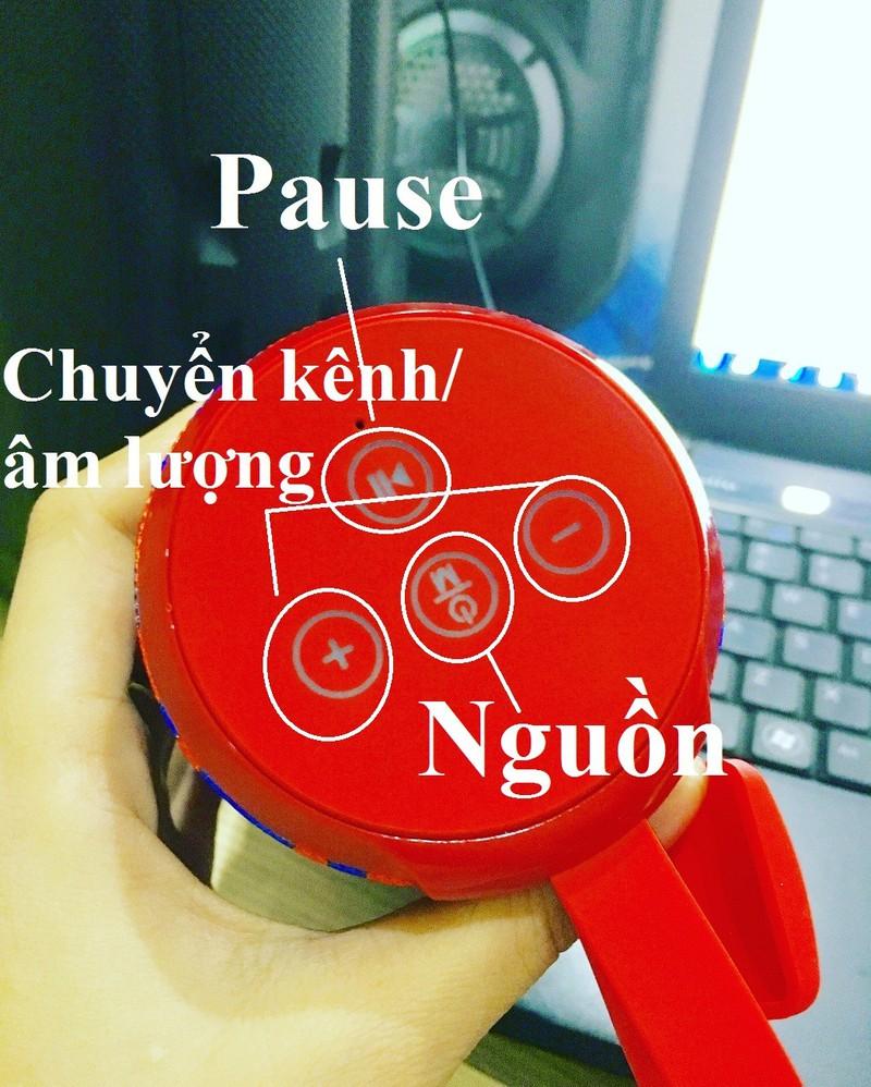 Loa Bluetooth Bass Vi Tính Âm Thanh NổiHIFI Stereo SpeakerPKCB-126 3