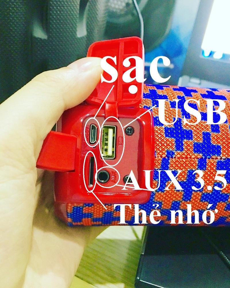 Loa Bluetooth Bass Vi Tính Âm Thanh NổiHIFI Stereo SpeakerPKCB-126 5