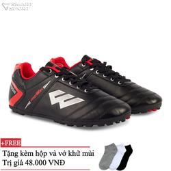 Giày đá bóng PROWIN S50 ĐEN - nhà phân phối chính từ hàng
