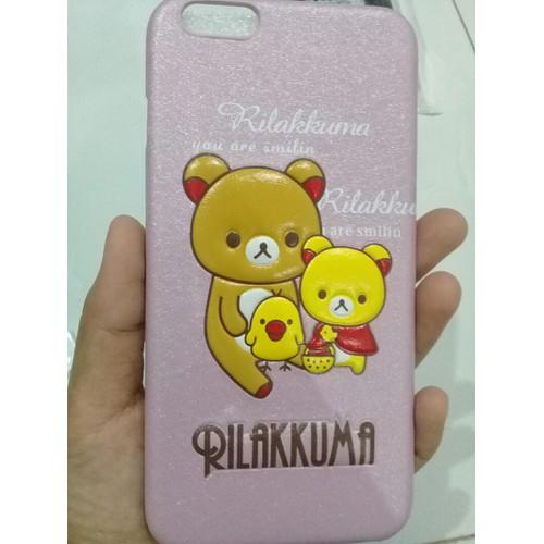 ốp cứng gấu nổi iphone 6plus