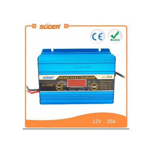 Bộ sạc bình ắc quy tự động 12V - 20A có màn hình LCD - 5444218 , 9112161 , 15_9112161 , 630000 , Bo-sac-binh-ac-quy-tu-dong-12V-20A-co-man-hinh-LCD-15_9112161 , sendo.vn , Bộ sạc bình ắc quy tự động 12V - 20A có màn hình LCD
