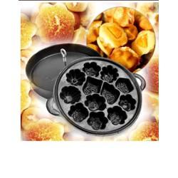 Khuôn làm bánh bông lan chống dính cao cấp khuôn 12 bánh