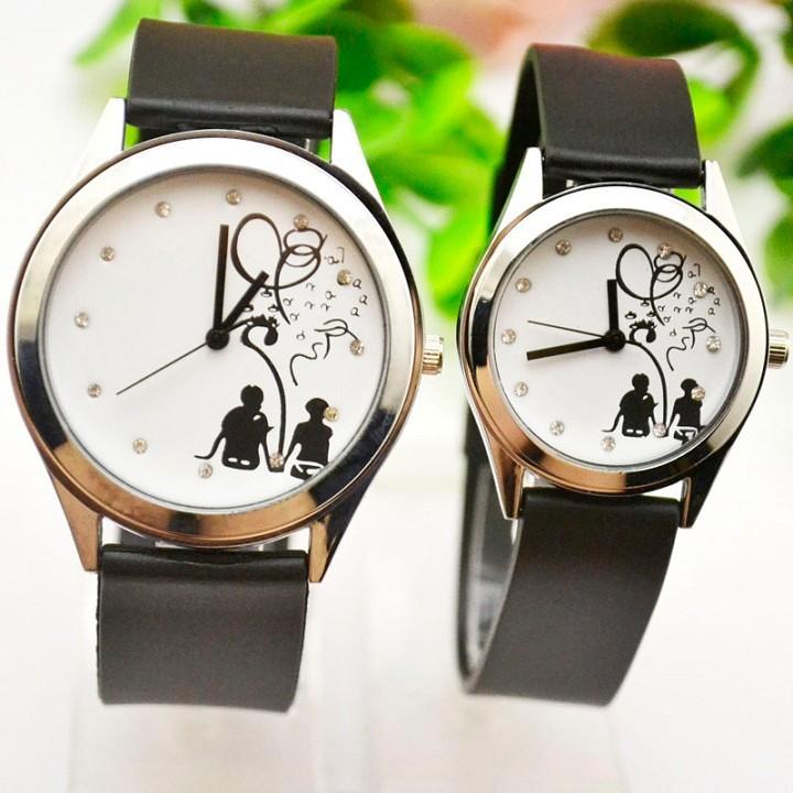 Đồng hồ đôi Hàn Quốc SMM57, đồng hồ cặp mẫu mới nhất, tặng hộp và pin dự phòng, bảo hành 2 năm - SMM57 4