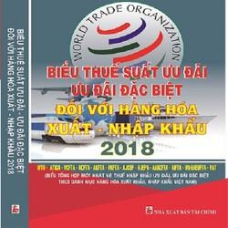 Biểu thuế xuất nhập khẩu 2018, NXB Tài Chính