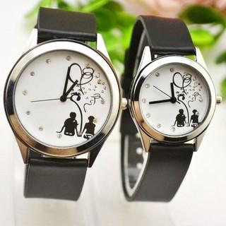 Đồng hồ đôi Hàn Quốc SMM57, đồng hồ cặp mẫu mới nhất, tặng hộp và pin dự phòng, bảo hành 2 năm - SMM57 1