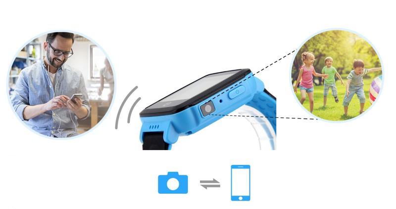 Đồng hồ thông minh định vị trẻ em GPS Tencent QQWacth C002 -Hồng tím 5
