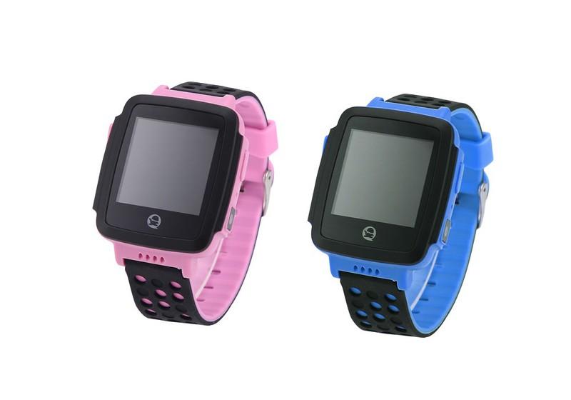 Đồng hồ thông minh định vị trẻ em GPS Tencent QQWacth C002 -Hồng tím 4