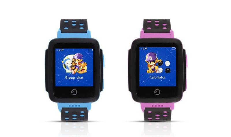 Đồng hồ thông minh định vị trẻ em GPS Tencent QQWacth C002 -Hồng tím 2