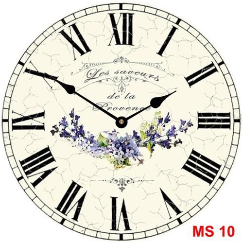 Đồng hồ treo tường phong cách cổ MS10 3
