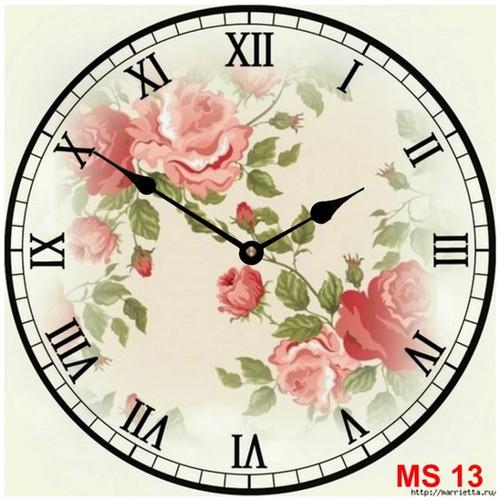 Đồng hồ treo tường phong cách cổ MS13 3