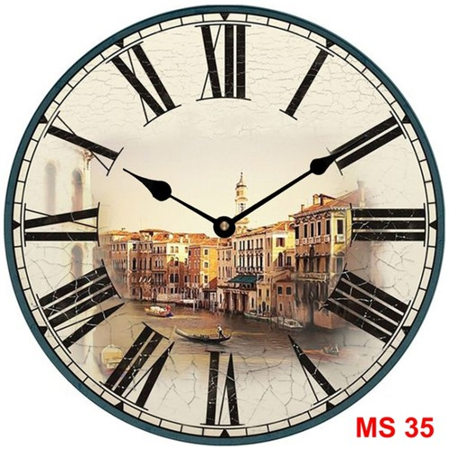 Đồng hồ treo tường phong cách cổ MS35 3