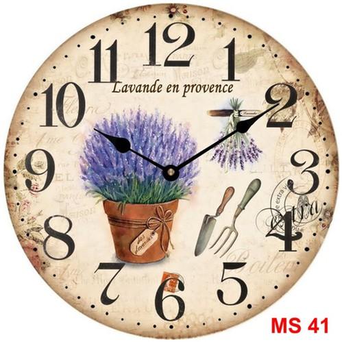 Đồng hồ treo tường phong cách cổ MS41 3