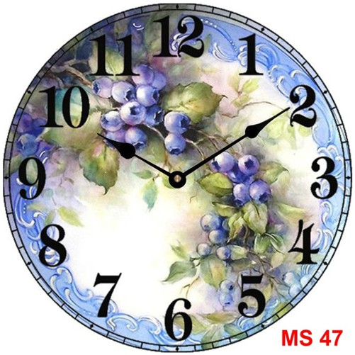 Đồng hồ treo tường phong cách cổ MS47 3