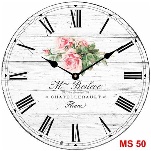 Đồng hồ treo tường phong cách cổ MS50 3