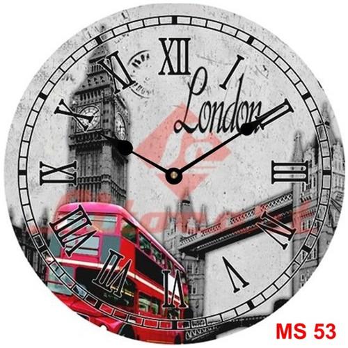 Đồng hồ treo tường phong cách cổ MS53 3