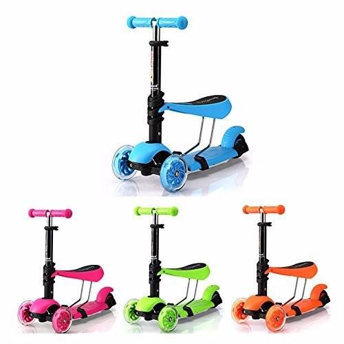 Xe trượt Scooter 3 trong 1 nhiều màu LOẠI 1