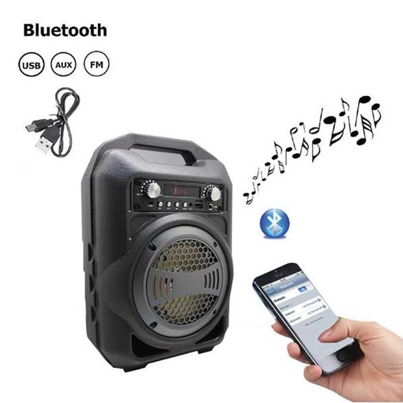 Loa Kẹo Kéo Bluetooth PKCB-BS12 Cắm Micro Thẻ Nhớ USB 4