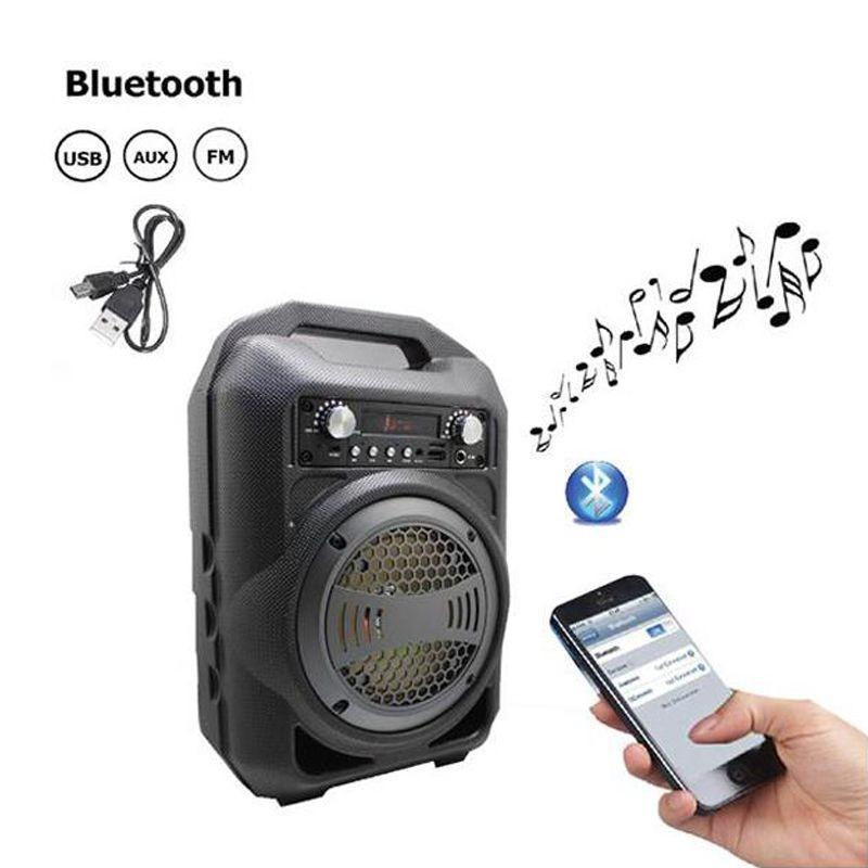 Loa Kẹo Kéo Bluetooth PKCB-BS12 Cắm Micro Thẻ Nhớ USB 8