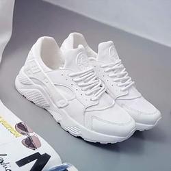 Giày thể thao nữ trắng cá tính