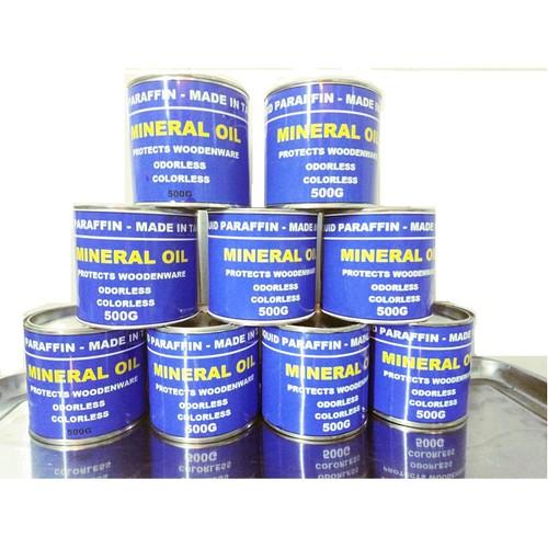 Dầu Parafin Trắng 500g, Mineral Oil Xử Lý Bảo Vệ Gỗ