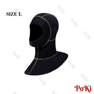 Mũ trùm lặn biển 3mm- size L, chống nước, giữ ấm, ôm đầu - POKI - p17muL thumbnail