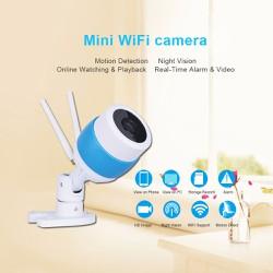 Camera IP An Ninh Chống Thấm Nước Ngoài Trời 2 Anten 1.0MP