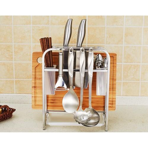 Giá để đồ nhà bếp đa năng inox 304 - Onlycook - 37x29cm