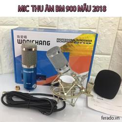 Mic thu âm BM 900 MẪU 2018