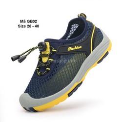 Giày lưới học sinh nam tiểu và trung học GB02