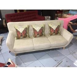 Sofa giá rẻ đẹp chất liệu nỉ MVGR-002