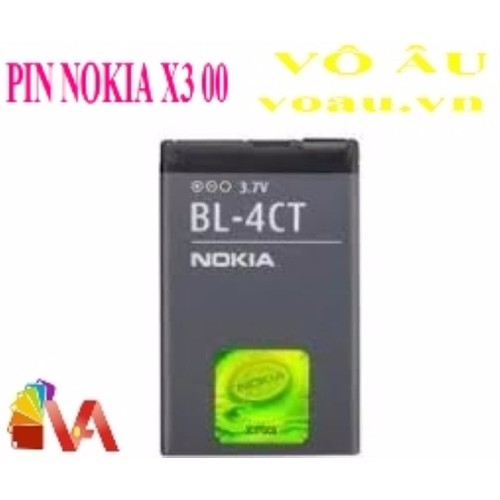 PIN NOKIA X3 00 BL-4CT - 5447650 , 9121228 , 15_9121228 , 47000 , PIN-NOKIA-X3-00-BL-4CT-15_9121228 , sendo.vn , PIN NOKIA X3 00 BL-4CT