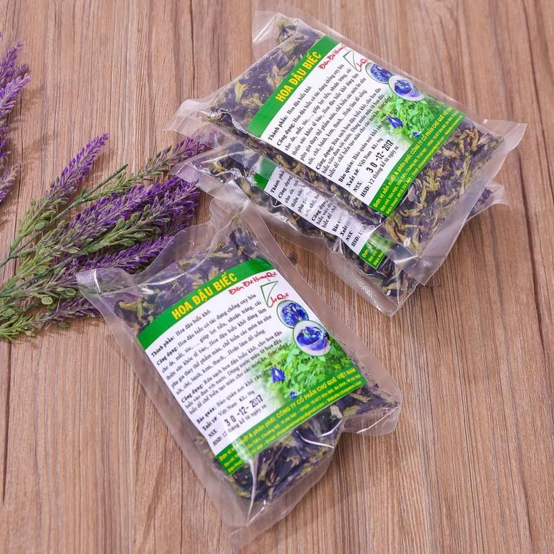 Hoa đậu biếc khô nguyên chất Chợ Quê Việt Nam 3