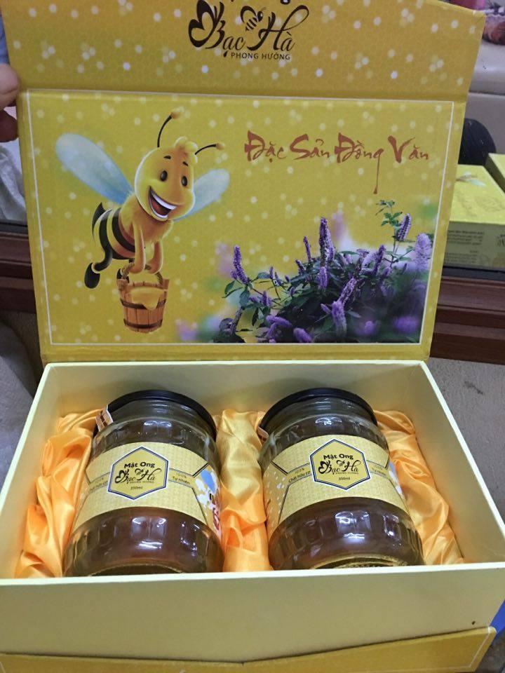 Mật ong bạc hà 350ml - Đặc sản cao nguyên đá Đồng Văn 2