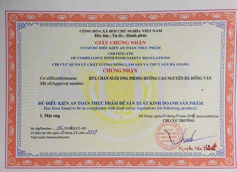 Mật ong bạc hà 350ml - Đặc sản cao nguyên đá Đồng Văn 3