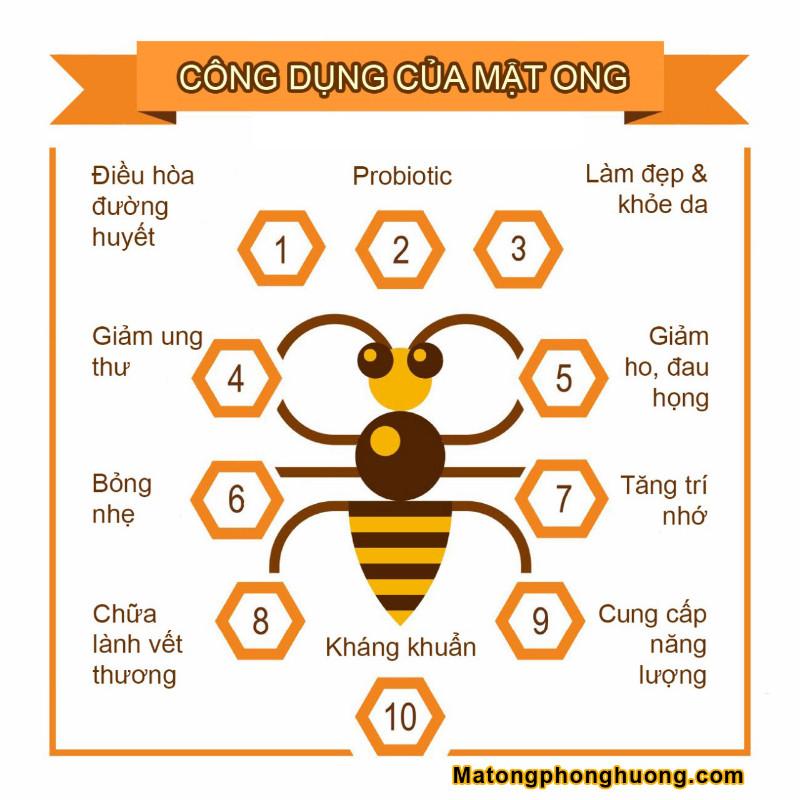 Mật ong hoa nhãn nguyên chất 500ml - Đặc sản tại Hưng Yên 1