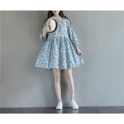 Đầm nữ vintage Hàn Quốc