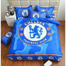 bộ chăn ga  Chelsea, Manchester, Barcelona, Bayern munchen, Liverpool