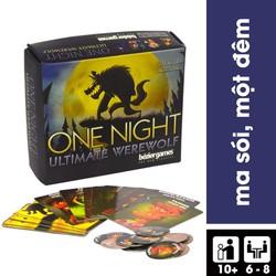Trò Chơi Board Game Bài Ma Sói One Night Ultimate Werewolf Việt Hoá