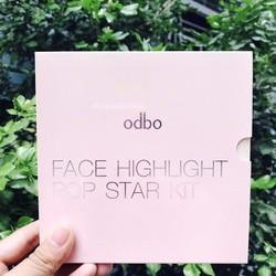 PHẤN BẮT SÁNG ODBO FACE HIGHLIGHT POP STAR KIT OD152 CHÍNH HÃNG