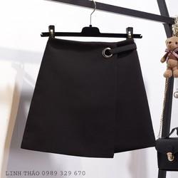 Chân váy chữ A đen CV1803