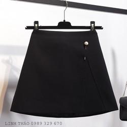 Chân váy chữ A đen CV1802