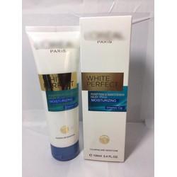 Sữa rửa mặt LO REAL WHITE PERFECT trị mụn dành cho da nhạy cảm