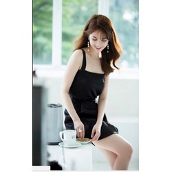 Đầm body đen Ngọc Trinh