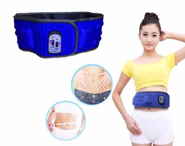 Đai điện rung giảm cân và giảm mỡ bụng hàng cao cấp