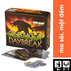 Trò Chơi Board Game Bài Ma Sói One Night Ultimate DayBreak Việt Hoá