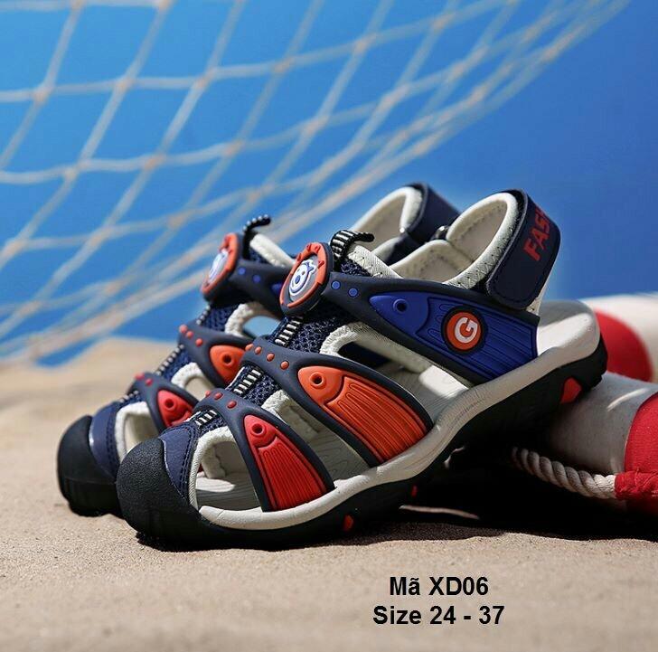 Giày sandal bít mũi cho bé trai cực đẹp - GSD-BT335