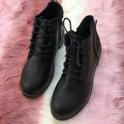 giày boot  nữ - hình thật  shop  chụp