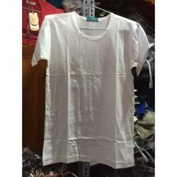 Áo thun lót nam màu trắng hàng dệt may Hà Nội