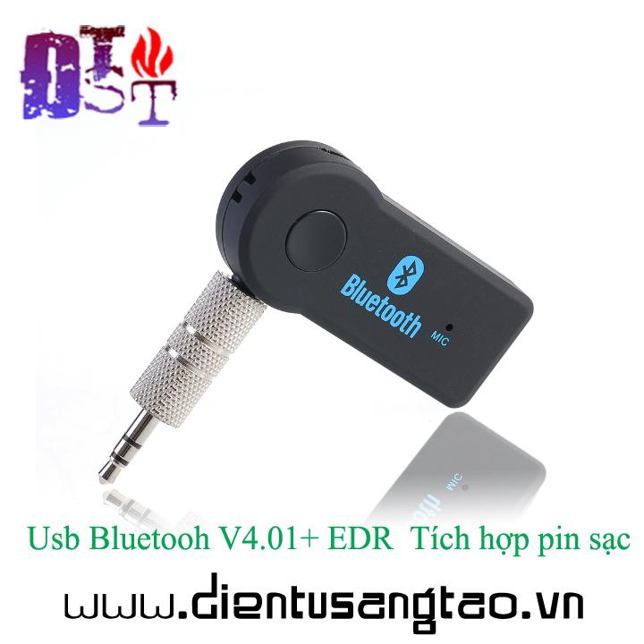 Usb Bluetooh V4.01+ EDR  Tích hợp pin sạc 4